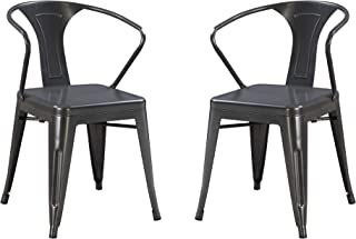 Best charcoal dining chair Reviews