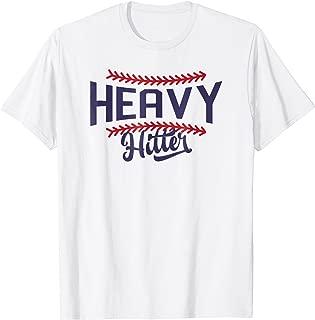 Heavy Hitter Shirt, Baseball T-shirt, T-ball Shirt, Laces