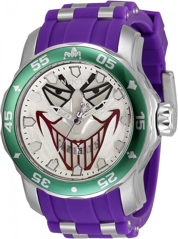 Invicta DC Comics - Joker 35611 Reloj para Hombre Cuarzo - 48mm