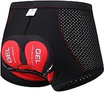 SOLO ACTFIT Fietsonderbroek voor heren, fietsbroek met 4D-gel zitkussen, MTB, wielersportondergoed, ademend, sneldrogend, ...
