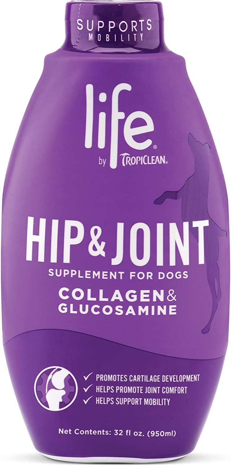 Life by TropiClean Hip and Joint Supplement for Dogs, Large