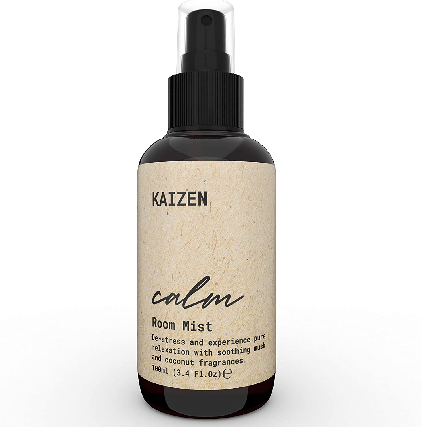 KAIZEN Natural Room Spray with Delicate Coconut Fragrance - Soft Mist Room Freshener Spray For Stress Relief & Anxiety Relief - Pillow Spray for Sleeping - Natural Air Freshener Spray, 3.38 Fl Oz: Health & Personal Care