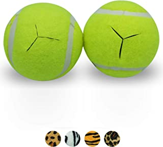 Star Top Deluxe Pre Cut Walker Tennis Ball Glides - Walkers Legs Universal Precut Glide Balls, Accessories Gifts for Elderly Seniors or Medical Rehab