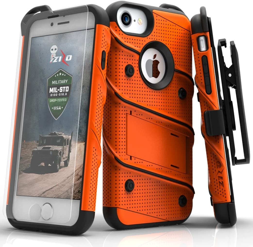 Zizo Trust iPhone 8 Case Branded goods 7 w Bolt Series Scre