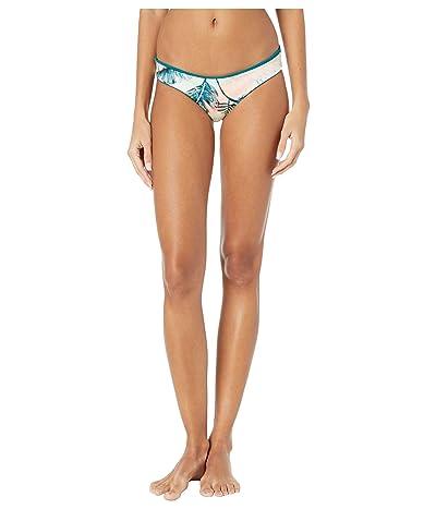 Maaji Sublime Eco Reversible Signature Coverage Bikini Bottoms (Rainforest Green Eco Rib) Women