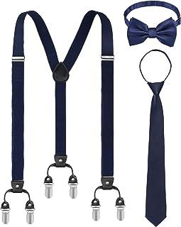 grande remise pour chaussures classiques grande variété de modèles Amazon.fr : cravate homme - Bretelles / Accessoires : Vêtements