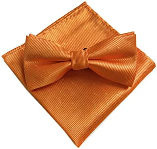 Jeffy /& Retro Mens Cotton Bow Ties Set 2 Packs