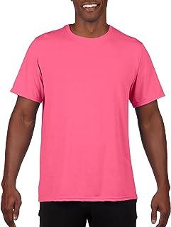 GILDAN 男式性能100% 聚酯纤维 T 恤