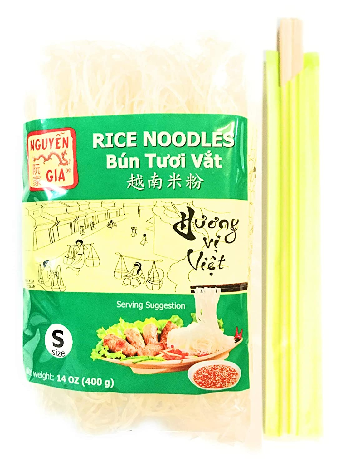 Nguyen Ranking TOP4 Gia Rice Noodles 14 Oz Small 4 Pairs Pack Of -4 Size And 5 ☆ popular
