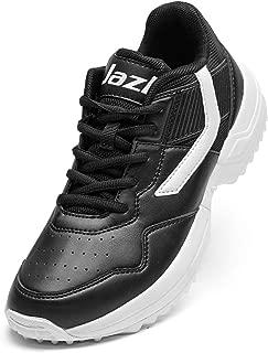 Jazba Cricket Shoes Men Rubber Spike Outdoor Trainer Shoe Junior Boys Hockey Baseball Softball Training Wide Fit Cushioning Running Walking Shoes
