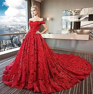 Amazonfr Robe De Mariee Rouge