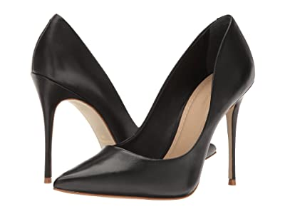 Massimo Matteo Pointy Toe Pump 17 (Black) Women