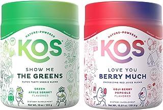 KOS Daily Duo Bundle (Organic Greens Blend + Organic Reds Blend)