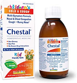 Chestal Children's Cold and Cough Syrup, 6.7 Fluid Ounce