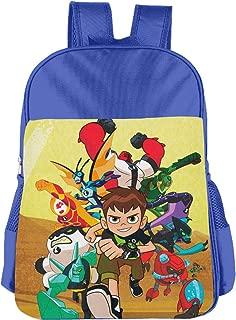 CNJELLAW B-Ben-10 Desert School Bag Easy Carry Lightweight Student Backpacks Kids Bookbag Daypack