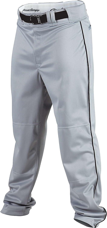 レビューを書けば送料当店負担 Rawlings Youth Premium Baseball 授与 Fit Semi-Relaxed Softball Piped