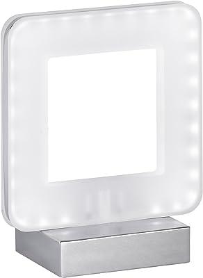 Action by WOFI a + LED Lámpara de mesa de metal 5.2W integrado 80x 175x 150cm, cromo 808301015000