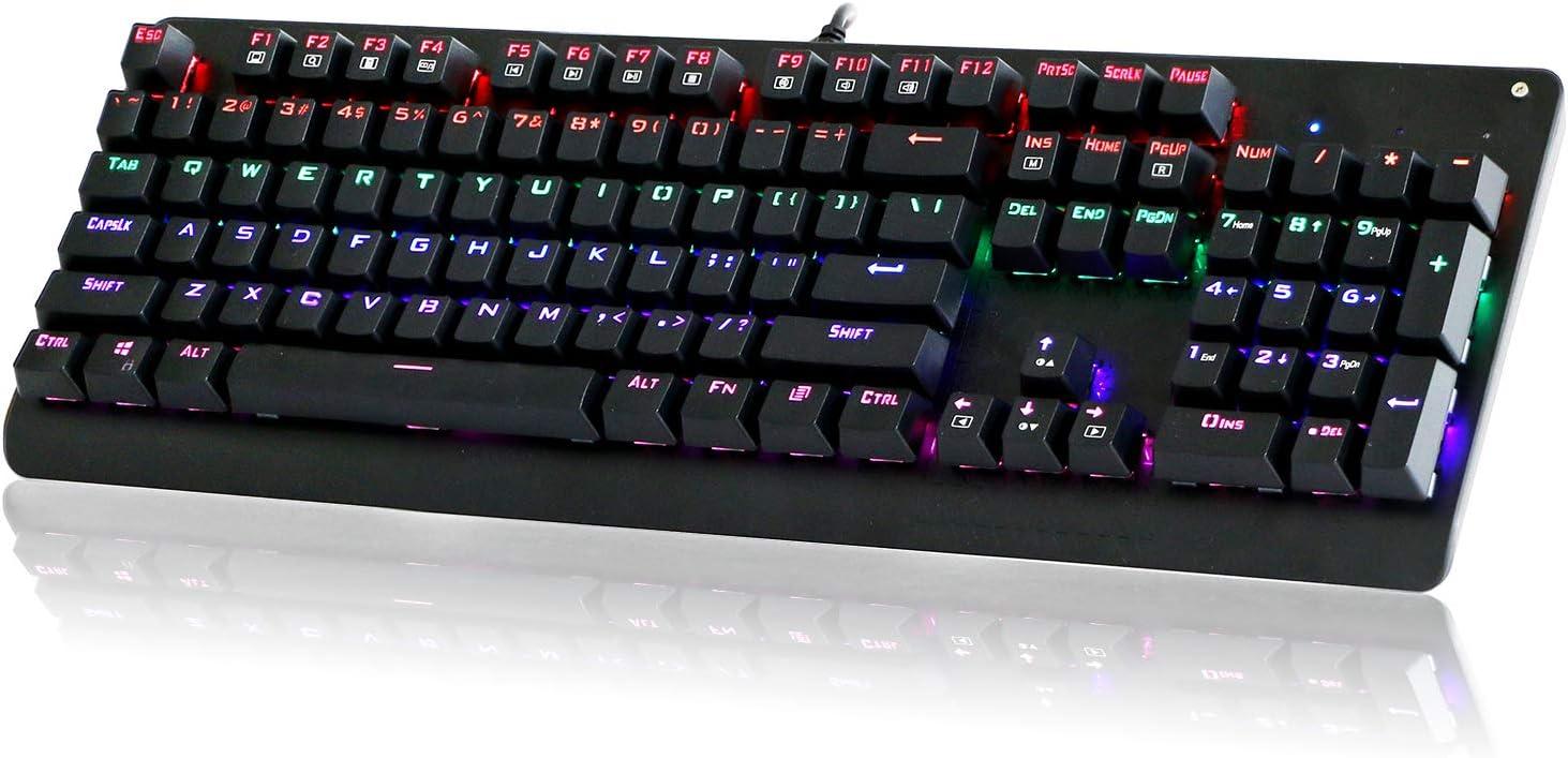 Mechanical Keyboard E-YOOSO K600 Popular Mail order brand in the world LED Rainbow Backlit
