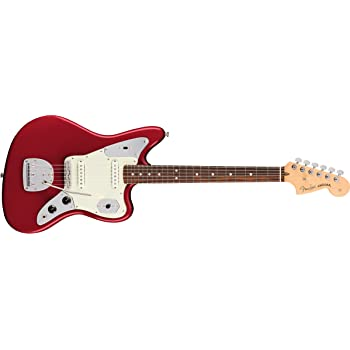 Fender エレキギター American Pro Jaguar®, Rosewood Fingerboard, Candy Apple Red
