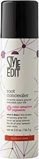 Style Edit Root Concealer Touch Up Spray | Instantly Covers Grey Roots | Professional Salon Quality Cover Up Hair Products for Women |Auburn/Red 2 Ounce (Pack of 1)