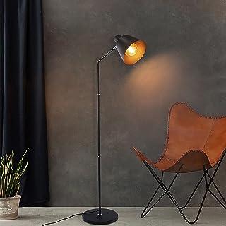 ZMH Lampadaire rétro E27 - Maximum 40 W - Lampadaire industriel - 166 cm - Décoration vintage pour salon, chambre à couche...