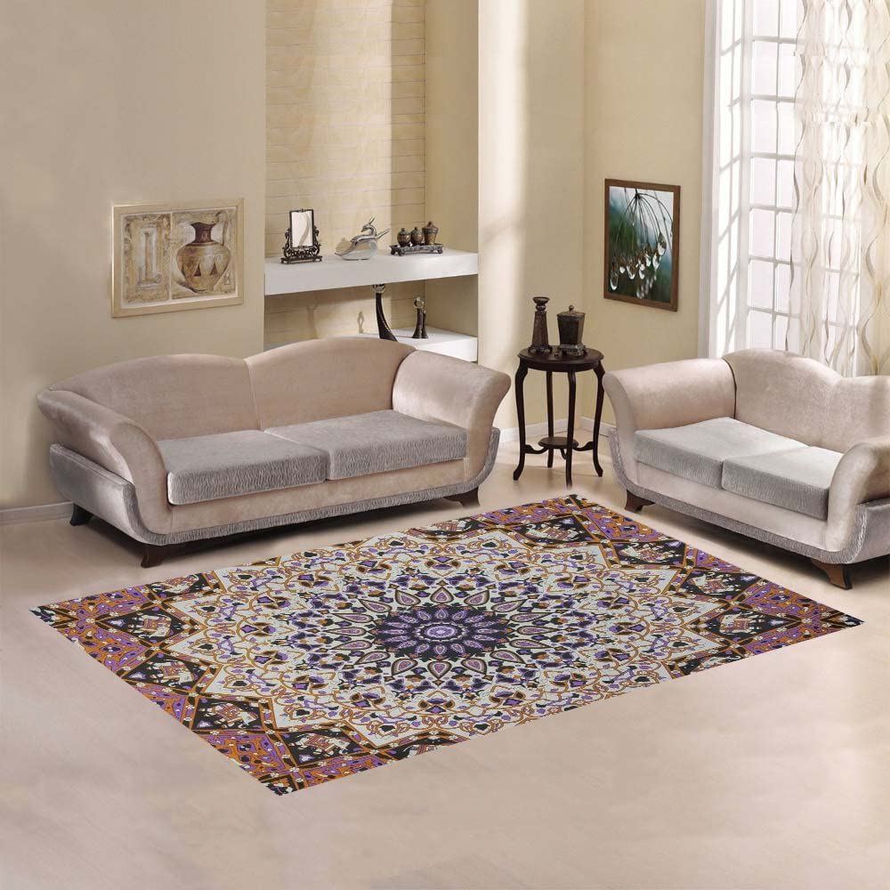 Love Nature Sweet Home Modern Rug Custom El Paso Mall New York Mall Area Collection Mandala
