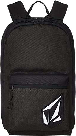 Volcom school yard canvas backpack black   Shipped Free at Zappos b987b5b65d