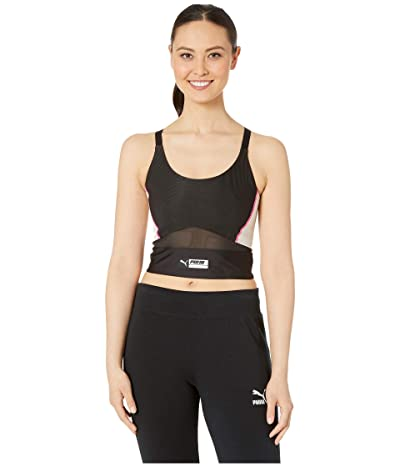 PUMA TZ Crop Top (PUMA Black) Women