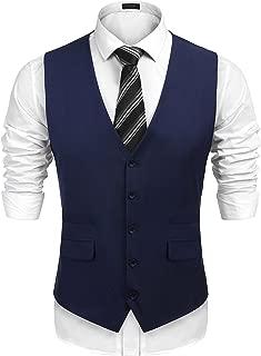 Best navy blue suit vest Reviews