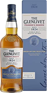 The Glenlivet Founders Reserve | American Oak Selection | Speyside Single Malt Scotch Whisky / 0,7l. Flasche in Geschenkpackung