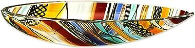 "NOVICA Decorative Bowls, 2.4"" H x 12.75"" W x 5"" D, Multicolor"