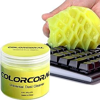 ColorCoral Gel de nettoyage universel pour clavier d'ordinateur portable Dépoussiérage ordinateur portable Maison et élect...