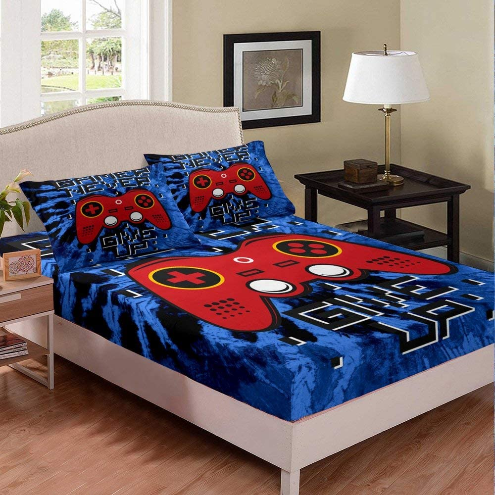 Castle Max 54% OFF Fairy Men Gaming Euipment Size Portland Mall Sheet Queen Wireles Fitted