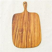 1 Pc Acacia houten hakblokken Dubbele zijden houten snijplank 1.5 cm dikke breadboard keukengereedschap (Size : 330X200X15mm)