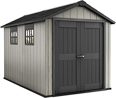 Amazon.com : Suncast 6 x 8 Everett Vertical Storage Shed ...