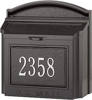 whitehall mailbox wall mount