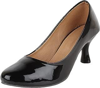 AUTHENTIC VOGUE Women's Casual Heel Bellie-2.5 Inch High Heel