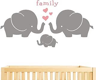 elephant family wall stickers