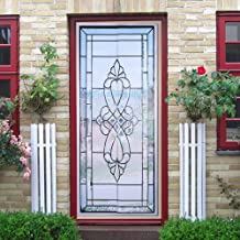 Window Sticker Decorative Decorative Film Glass Door Sticker, Home Decoration Wall Sticker, for Bathroom for Living Room