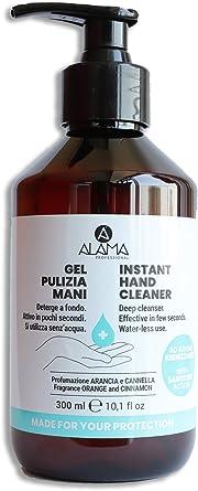 Alama Professional Gel Igienizzante per la Pulizia delle Mani 60% Alcool - 300 ml