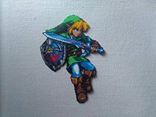 legend of zelda link pixel art