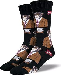 Sock Smith Mens Monkey Biz Socks-Back