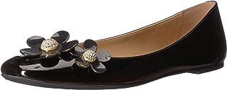 حذاء باليه مسطح للسيدات من مارك جاكوبس ديزي, (أسود), 36 EU