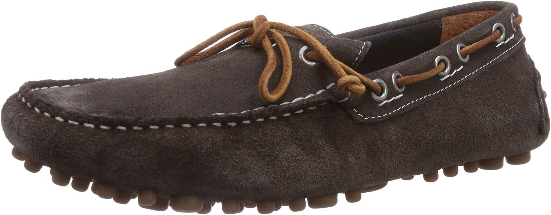 Jack & Jones Jjcannes Suede Car shoes Frost Grey, Men's Slippers