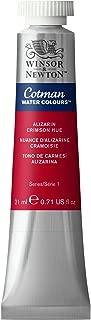 Winsor & Newton 0303003 Cotman Water Colour Paint, 21-ml Tube, Alizarin Crimson Hue