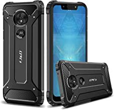 J&D Case Compatible for Moto G7 Play Case, Heavy Duty [ArmorBox] [Dual Layer] Shock Resistant Hybrid Protective Rugged Case for Motorola Moto G7 Play Case – [Not for Moto G7/G7 Plus/G7 Power/G7 Supra]