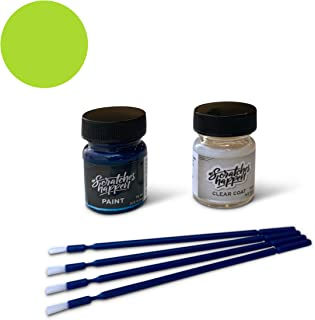 ScratchesHappen Exact-Match Touch Up Paint Kit Compatible with Chrysler/Dodge Sublime Green (PFB/FFB/LF8) - Essential