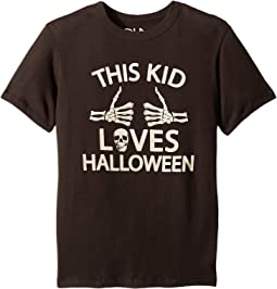 Super Soft Cotton This Kid Loves Halloween Short Sleeve Tee (Little Kids/Big Kids)