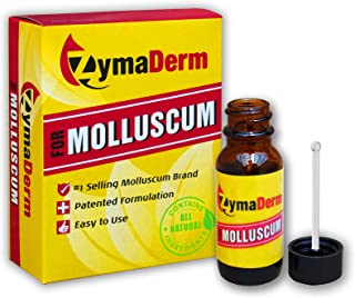 ZymaDerm for Molluscum, Natural, Fast, Gentle, Painless – FDA Registered, Made in USA,..