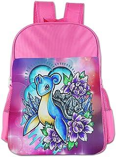 Lapras Pokemon Children's Bags Kid School Bag Boy Girl Backpack